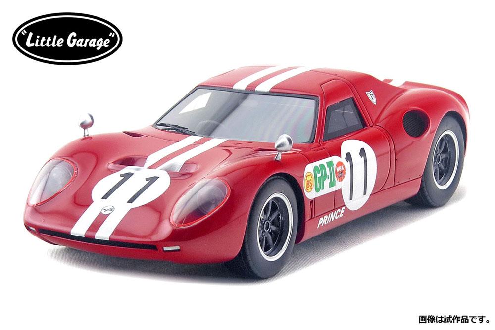 【お取り寄せ商品】 Little Garage LG2401K 1/24キット プリンス R380 1966 Japan GP 優勝車