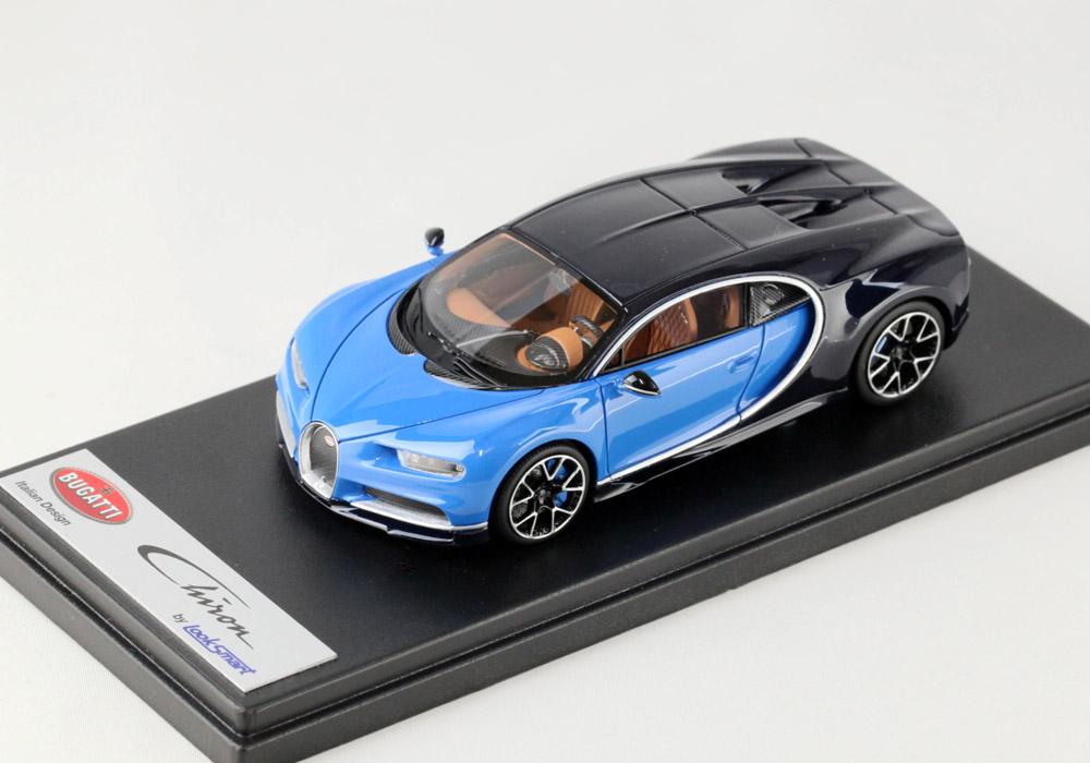 LOOKSMART LS459A Bugatti Chiron Le Patron / Bugatti Light Blue Sport