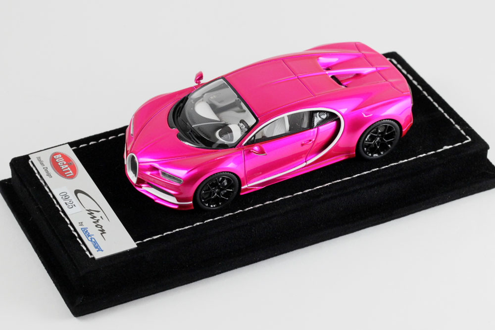 LOOKSMART LS459SC Bugatti Chiron Pink Flash Limited 25pcs