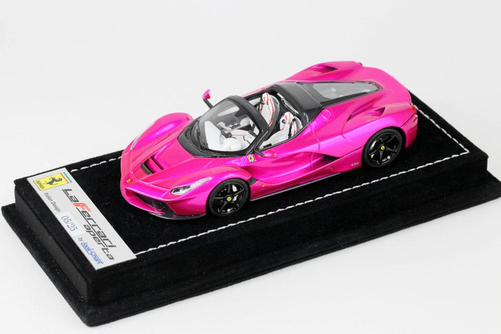 LOOKSMART LS462SC La Ferrari Aperta Pink Flash Limited 25pcs