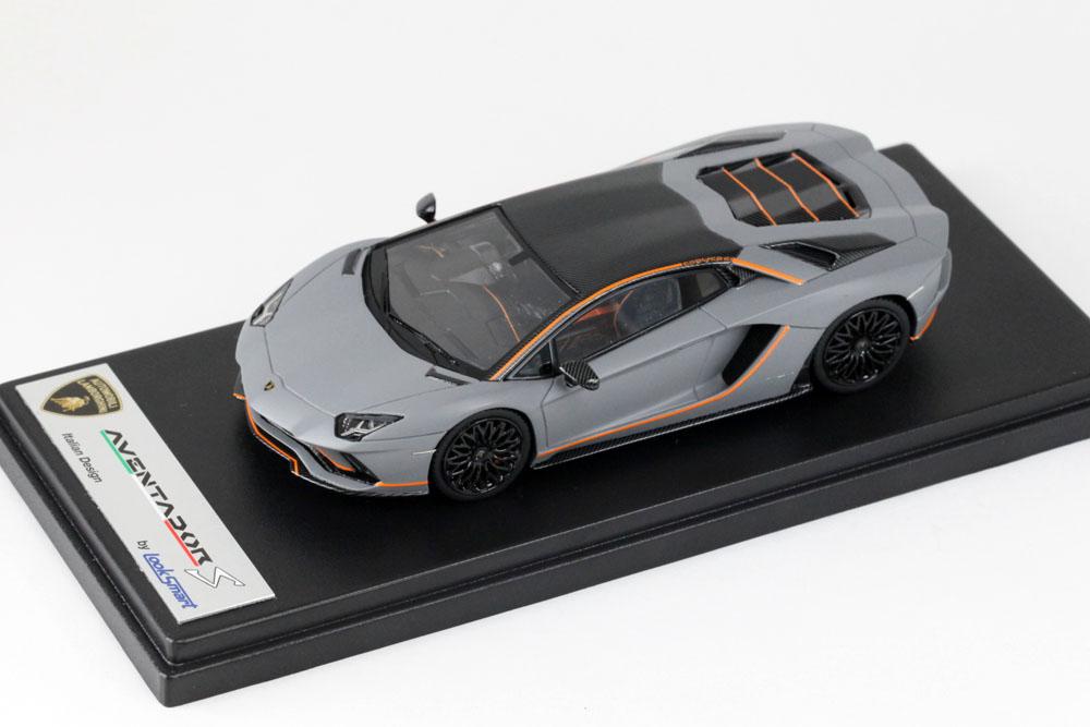 LOOKSMART LS468SE Lamborghini Aventado S Ad Personam Grigio Acheso
