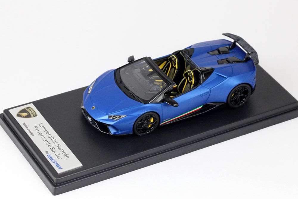 LOOKSMART LS481A Lamborghini Huracan Performante Spyder Blu Aegeus