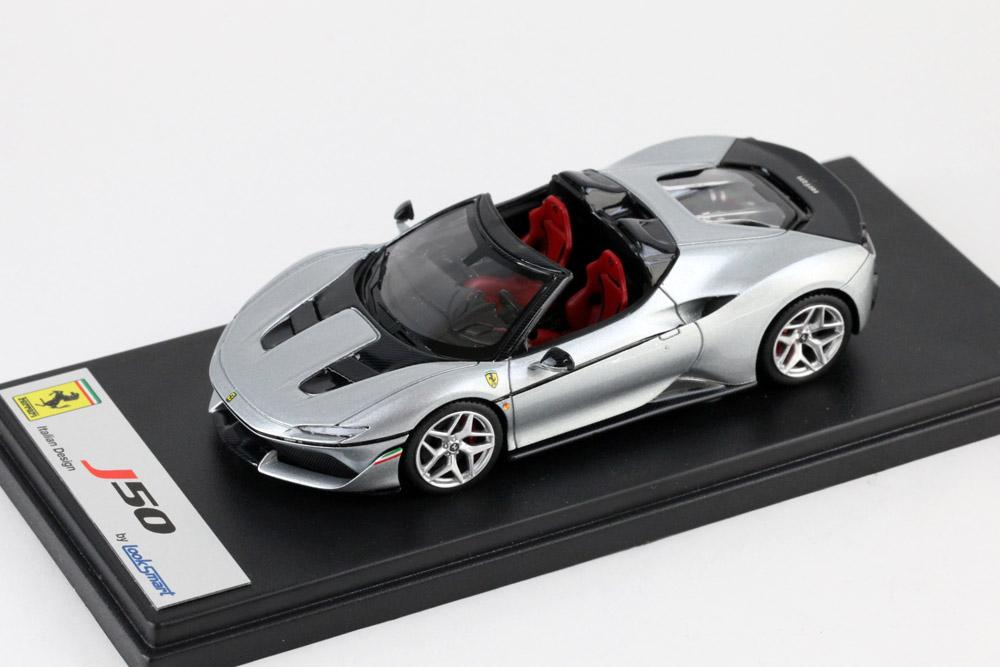 LOOKSMART LS485D Ferrari J50 Pure Metal Silver