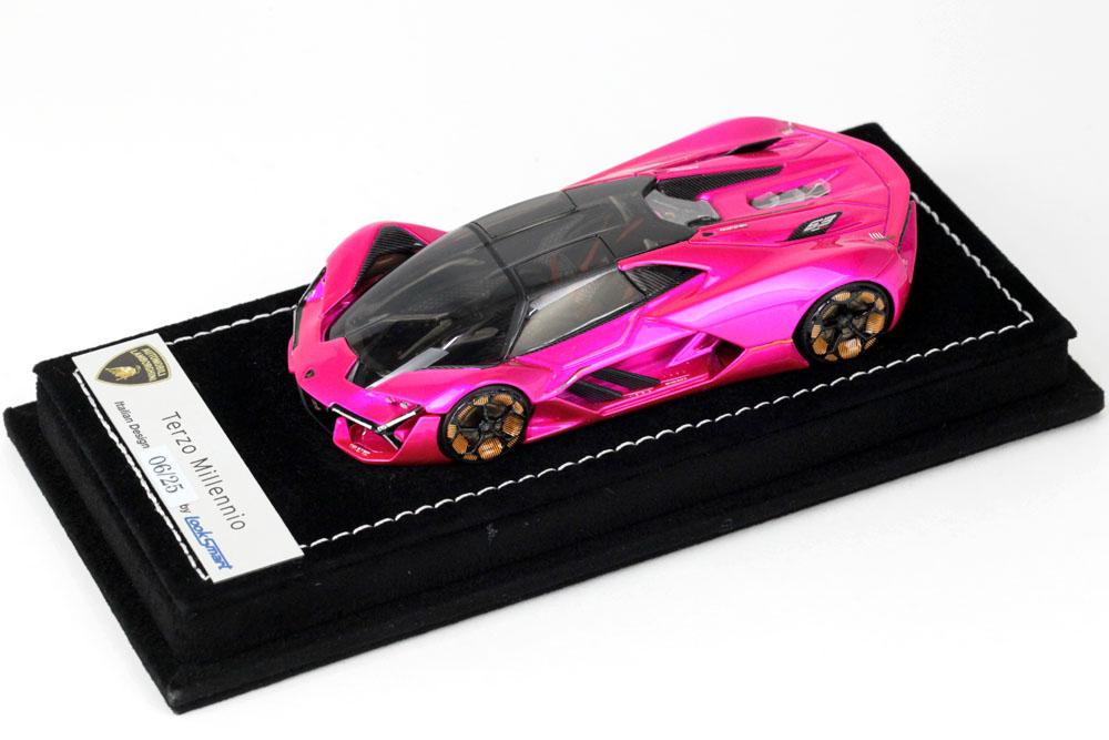 LOOKSMART LS487SC Lamborghini Terzo Millennio Pink Flash Limited 25pcs