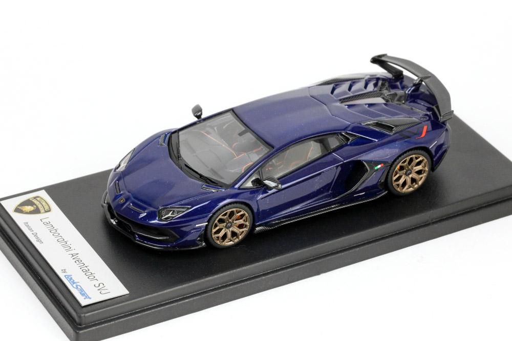 LOOKSMART LS489F Lamborghini Aventador SVJ Blu Sideris