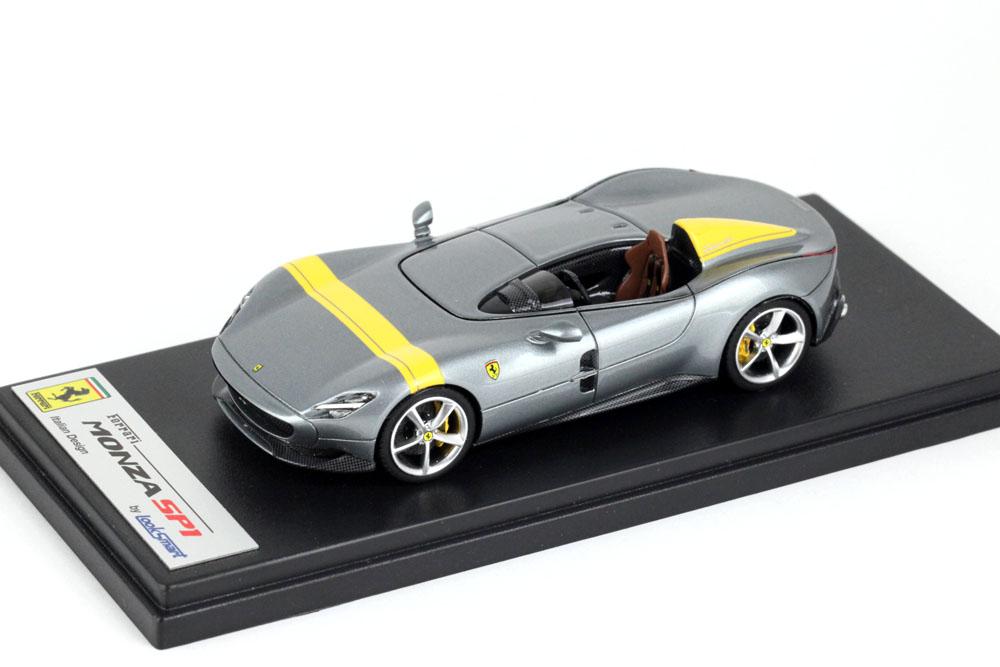 LOOKSMART LS499A Ferrari Monza SP1 Grigio Titanio Met.