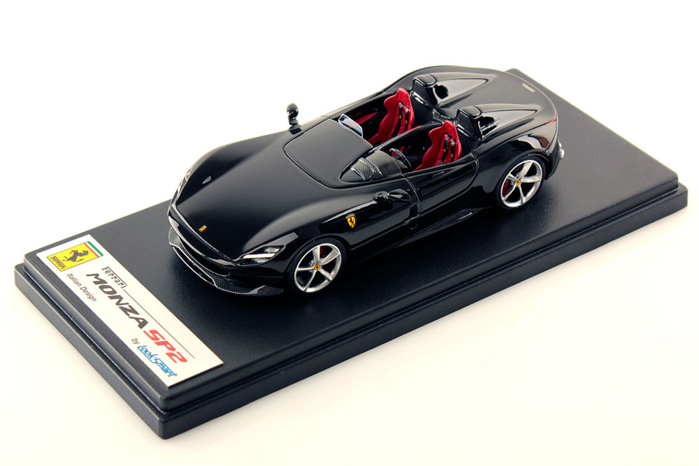 LOOKSMART LS500A Ferrari Monza SP2 Nero DS (ブラック)