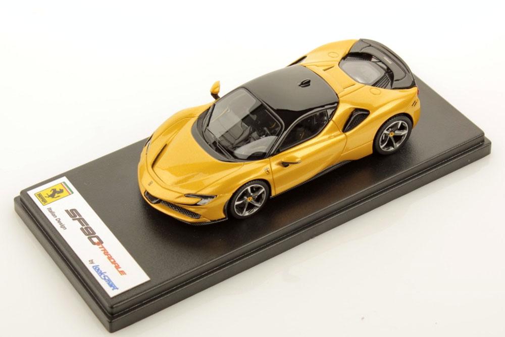LOOKSMART LS504H 1/43 Ferrari SF90 Stradale Giallo Montecarlo / Nero DS