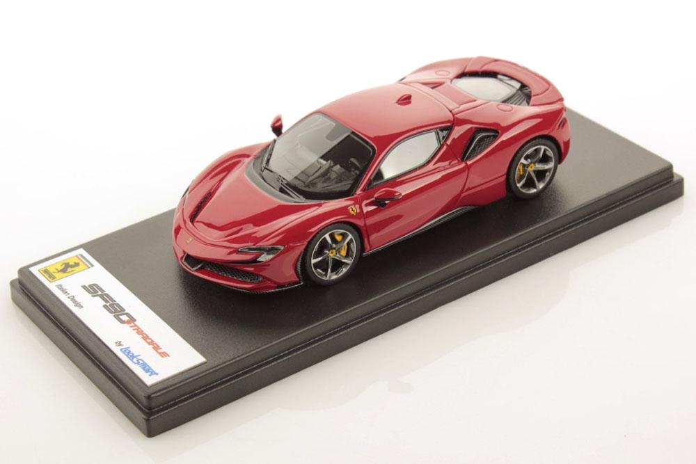 LOOKSMART LS504J 1/43 Ferrari SF90 Stradale New Rosso Corsa Met.
