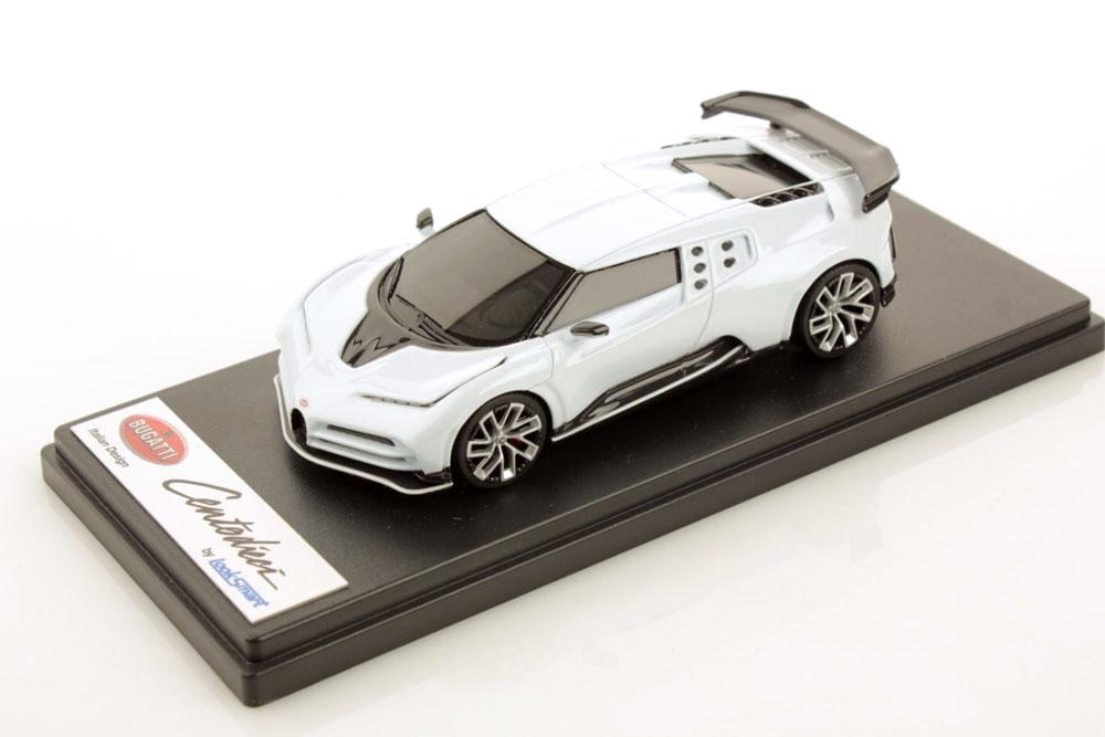 LOOKSMART LS513A 1/43 Bugatti Centodieci Quartz White