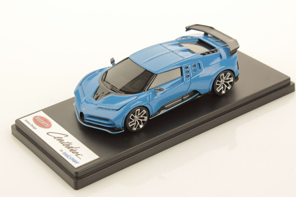 LOOKSMART LS513B 1/43 Bugatti Centodieci French Racing Blue