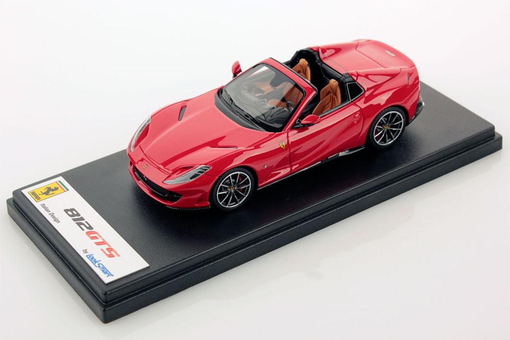 LOOKSMART LS516B 1/43 Ferrari 812 GTS Rosso Corsa