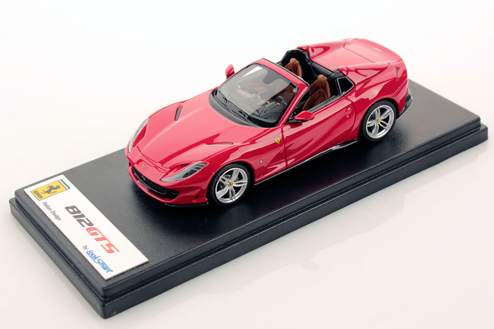 LOOKSMART LS516E 1/43 Ferrari 812 GTS Rosso 70 Anni