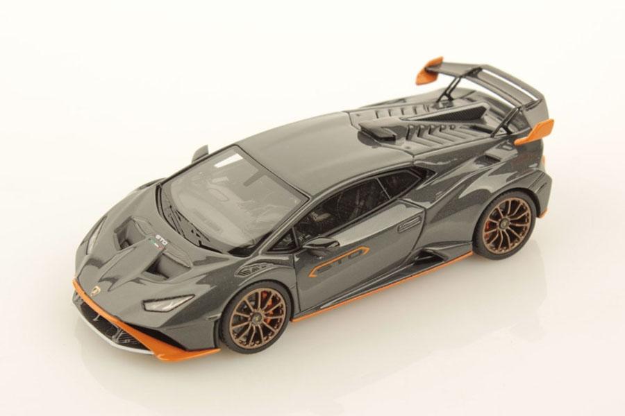 ** 予約商品 ** LOOKSMART LS523C 1/43 Lamborghini Huracan STO Grigio Telesto