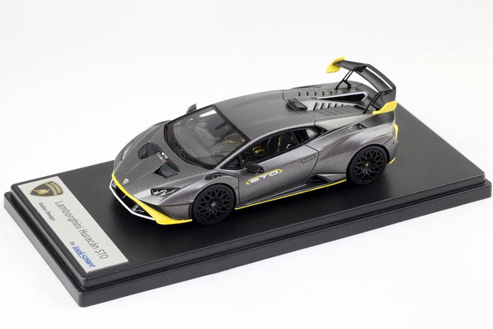 ** 予約商品 ** LOOKSMART LS523SE 1/43 Lamborghini Huracan STO Grigio Titans
