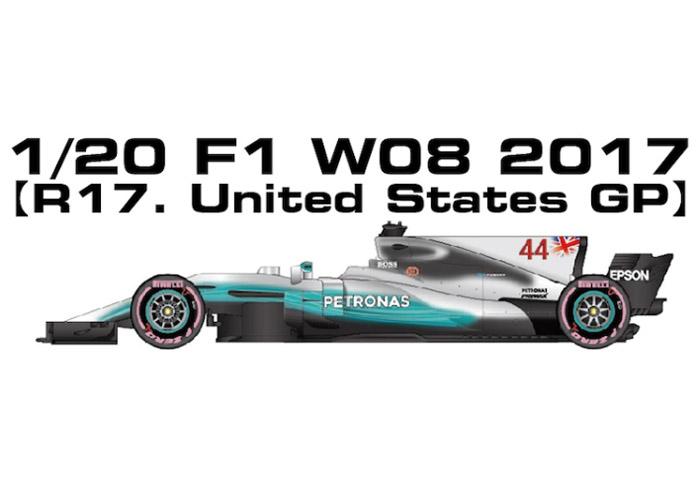MONOPOST MP037 1/20 メルセデス W08 R17.United States GP 2017
