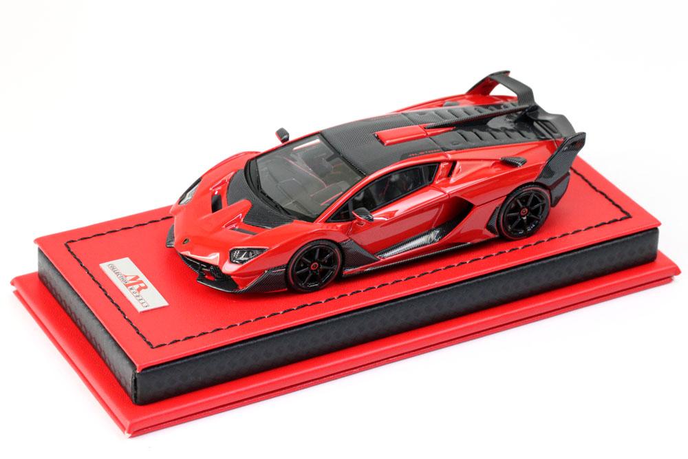 MR collection 1/43 Lamborghini SC18 Alston Rosso Mars Limited 20pcs