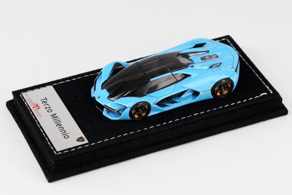 MR collection 1/64 Lamborghini Terzo Millennio Baby Blue Lmited 299pcs