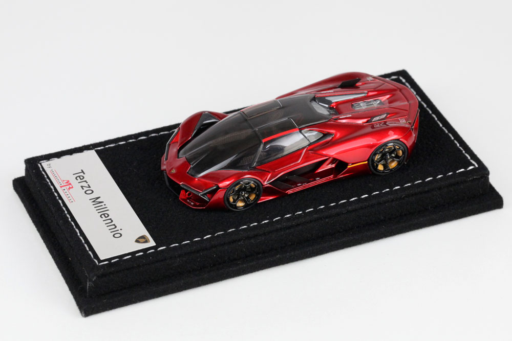 MR collection 1/64 Lamborghini Terzo Millennio Metallic Pearl Red Lmited 299pcs