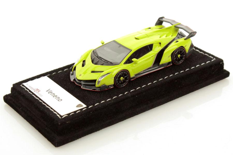 MR collection 1/64 Lamborghini Veneno Verde Scandal Lmited 299pcs