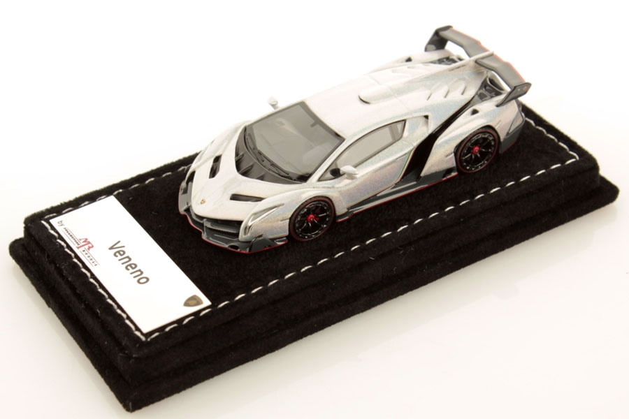 MR collection 1/64 Lamborghini Veneno Chameleon White Lmited 299pcs