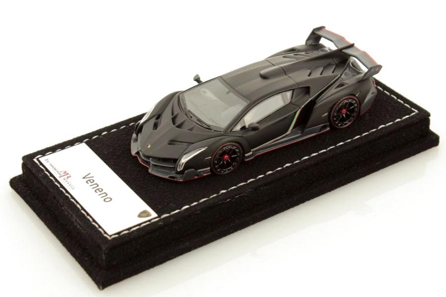 MR collection 1/64 Lamborghini Veneno Nero Nemesis Lmited 299pcs