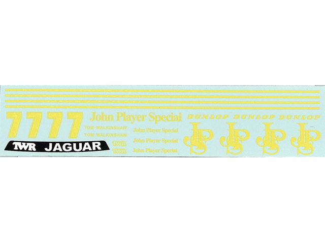 MSMクリエイション D206 1/24 Jagure XJS 1984 Macau Guia Race JPS Tom Walkinshaw デカール 【メール便可】