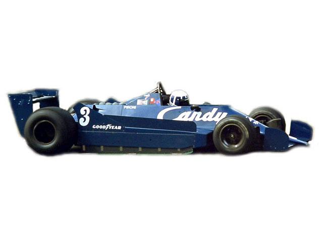 TAMEO MTG001 Tyrrell Ford 009 Belgio GP 1979 D.Pironi/J.P.Jarier