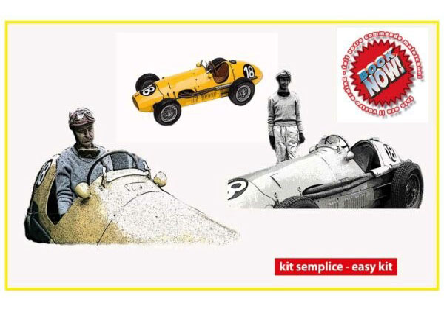 TAMEO kit MTG004 Ferrari 500F2 AVUS GP (Berlin) 1953 Ecurie Francorchamps Winner J.Swaters