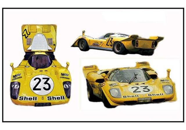 TAMEO kit MTG005 Ferrari 512S 1000km SPA 1970 Ecurie Francorchamps D.Bell - H.de Fierlant