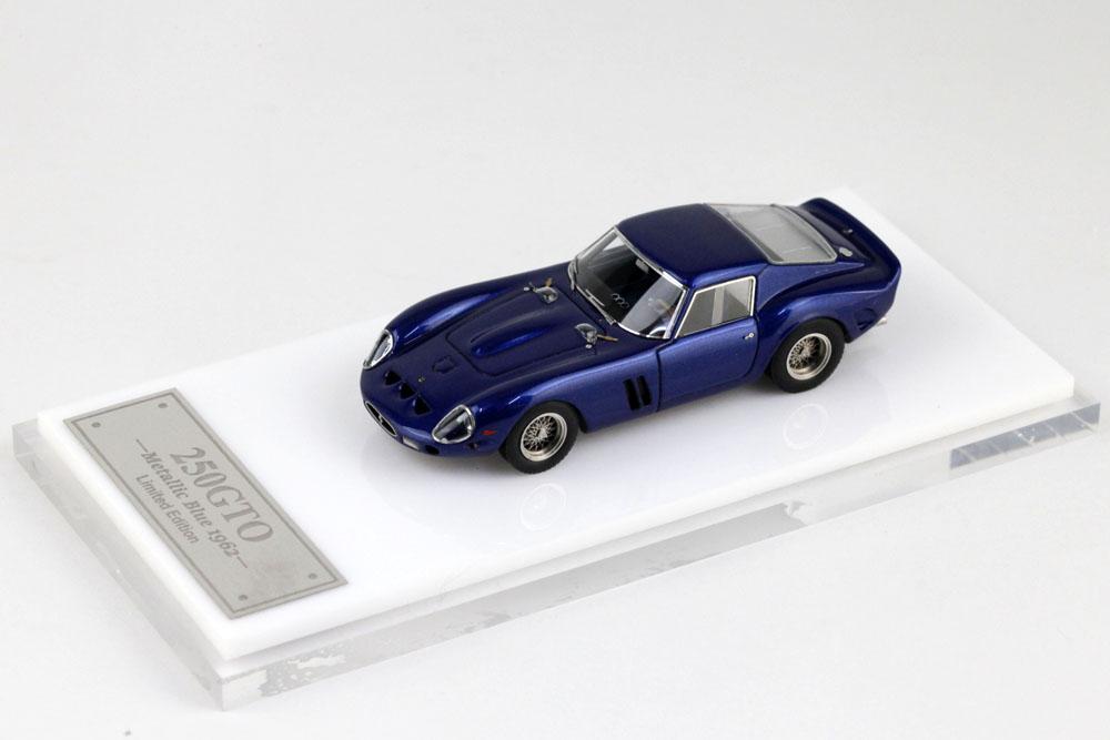 MY64 01K 1/64 Ferrari 250GTO 1962 Metallic Blue Lmited 399pcs
