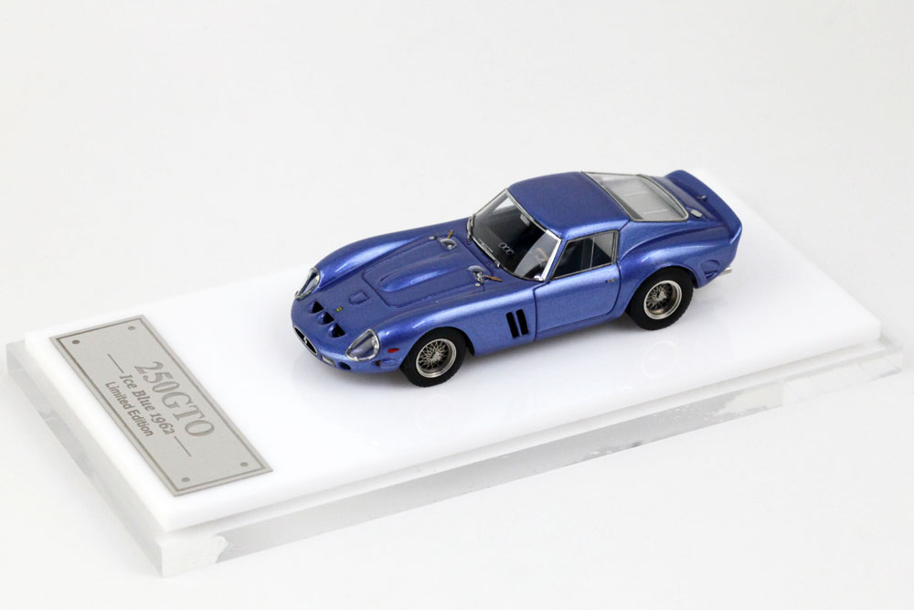 MY64 01L 1/64 Ferrari 250GTO 1962 Ice Blue Lmited 399pcs