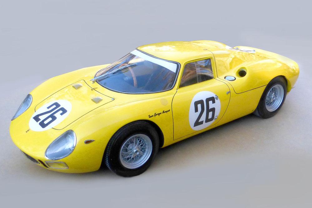 【お取り寄せ商品】 プロフィール P12006 1/12 フェラーリ 250LM 2nd Le Mans 1965 n.26
