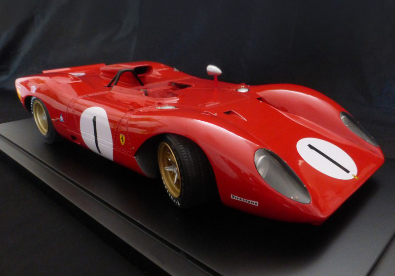 【お取り寄せ商品】 プロフィール P12007 1/12 フェラーリ 312P Spyder 1969