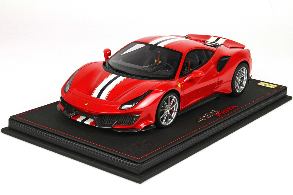 BBR P18145AV 1/18 Ferrari 488 PISTA Geneve Auto Show 2018 Red Limited 488pcs (ケース付)