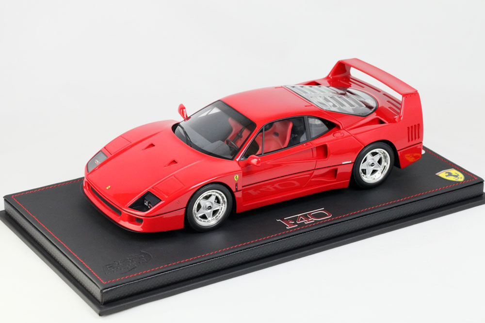 ** 再入荷待ち ** BBR P18151AV 1/18 Ferrari F40 1987 Red Limited 400pcs (ケース付)