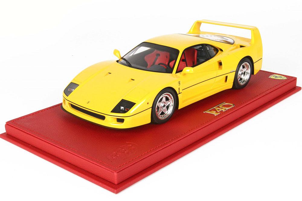 BBR P18151BV 1/18 Ferrari F40 1987 Modena Yellow Limited 76pcs (ケース付)