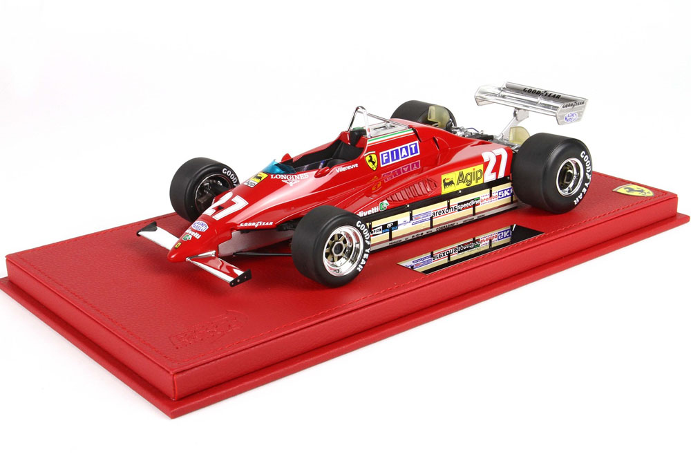 BBR P18154 1/18 Ferrari 126C2 Belgio GP G.Villeneuve Limited 300pcs (ケース付)
