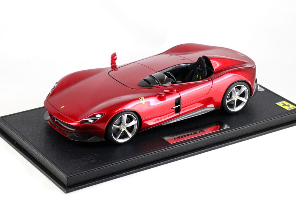 BBR P18164BV 1/18 Ferrari Monza SP1 Rosso Magma Limited 240pcs (ケース付)