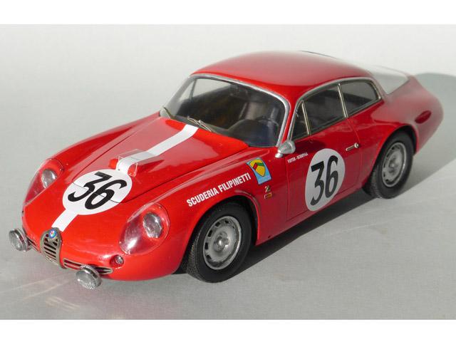 プロフィール24 P24093 1/24 アルファロメオ ジュリエッタ SZ Le Mans 1963 n.36