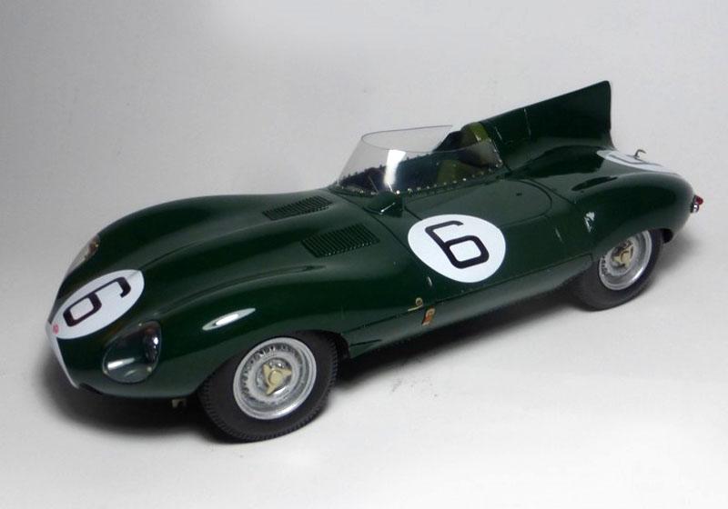 プロフィール P24108 1/24 ジャガー D Type Le Mans 1955 Winner n.6