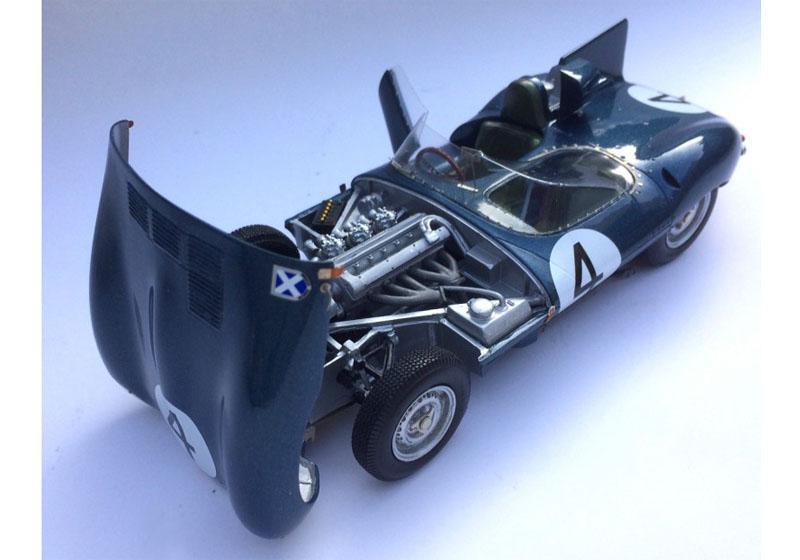 プロフィール P24109 1/24 ジャガー D Type Le Mans 1956 Winner n.4