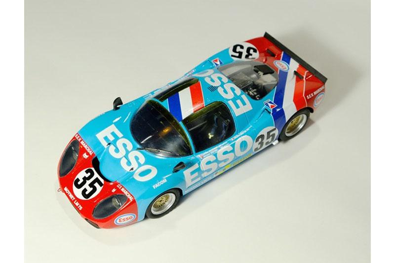 ** 予約商品 ** プロフィール24 P24120 1/24 Moynet LM 35 Le Mans 1975 n.35