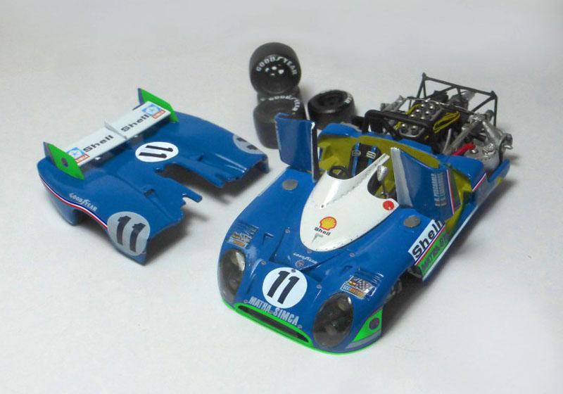 プロフィール P43013 1/43 マトラ 670 Le Mans 1973 Winner n.10/11/12 ハイディテールキット