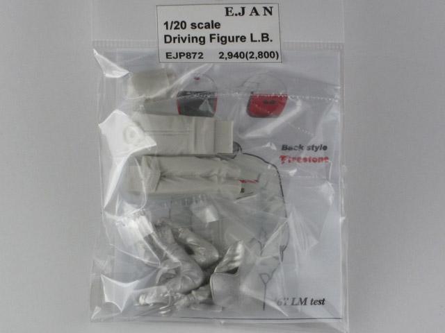 E-JAN P872 1/20 ドライビングフィギュア L.バンディーニ