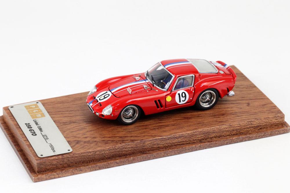 PGM 1/64 Ferrari 250GTO n.19  Le Mans 1962 (Nomal ver.)