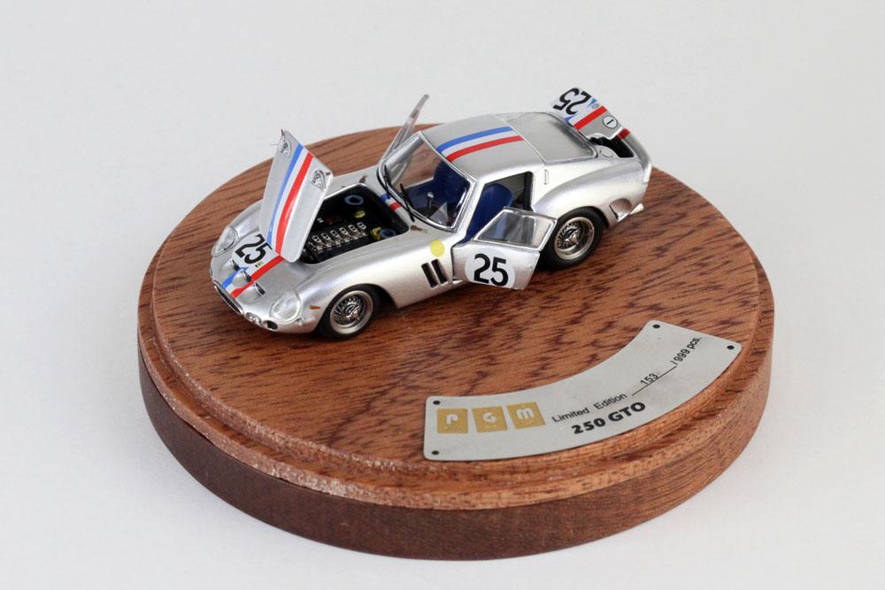 PGM 1/64 Ferrari 250GTO n.25 Le Mans 1963 (Luxury ver.)