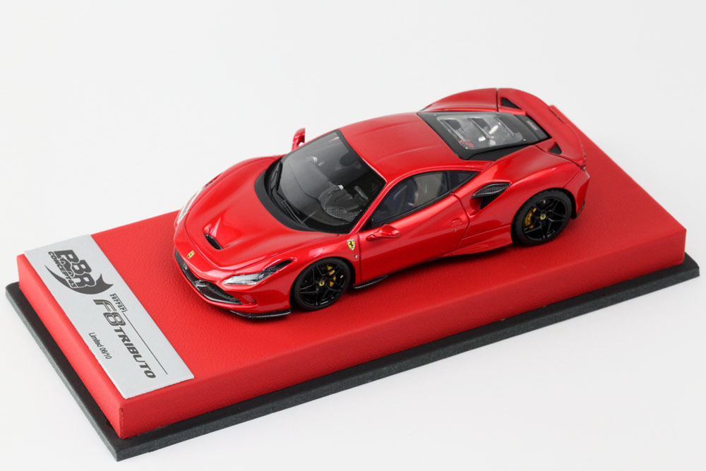 BBR RACE43-58 Ferrari F8 Tributo Met.Enzo Red Lmited 10pcs