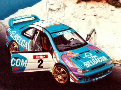 RENAISSANCE int34f スバル IMPREZA WRC-BELGACOM SPA 98