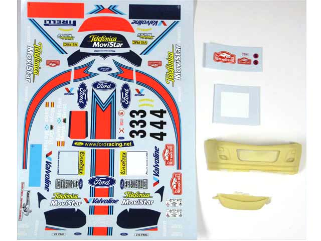 RENAISSANCE TK24/078 1/24 フォード Focus WRC Martini 2. MC 2001
